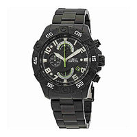 Invicta Men's 26101 S1 Rally Quartz Multifunction Black Dial Watch