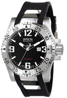 Invicta Men's 6252 Excursion Quartz 3 Hand Black Dial Watch