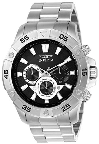 Invicta Men's 22786 Pro Diver Quartz Chronograph Black Dial Watch