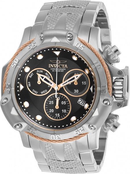 Invicta Men's 26723 Subaqua Quartz Chronograph Black Dial Watch
