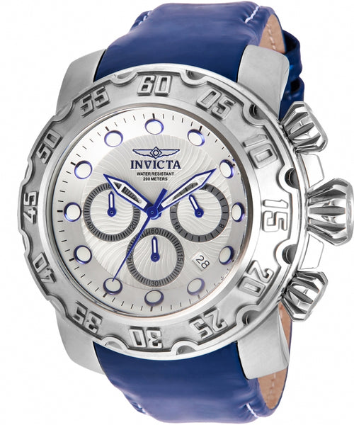 Invicta Men's 22391 Lupah Quartz Chronograph Silver Dial Watch