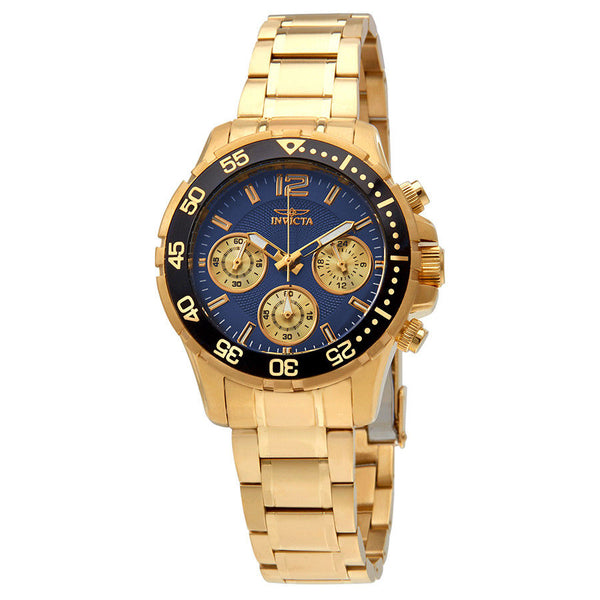 Invicta Pro Diver Lady Chronograph Blue Dial Ladies Watch 25749