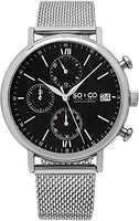 SO & CO New York Men's 5266M.2 Silver Stainless Steel Watch
