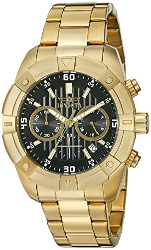 Invicta Men's 21470 Specialty Quartz Multifunction Black Dial Watch