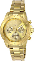 Invicta Women's 21731 Wildflower Quartz 3 Hand Gold Dial Watch