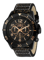 Invicta Men's 24554 Aviator Quartz Multifunction Black Dial Watch