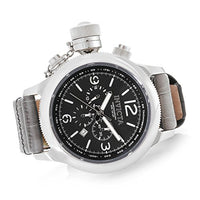 Invicta 18574 Men's 54mm Russian Diver Quartz Chronograph Leather Watch