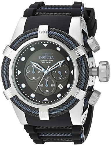 Invicta Men's 23051 Bolt Quartz Chronograph Black Dial Watch