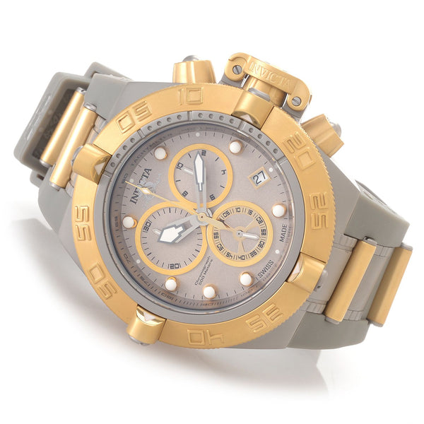 Invicta  Men's 17208 Subaqua Quartz Chronograph Grey Dial Watch