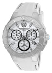 TR Men's TM-115074 Cruise Medusa Quartz White Dial Watch