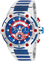 Invicta Men's 25780 Marvel Quartz Chronograph Blue Dial Watch