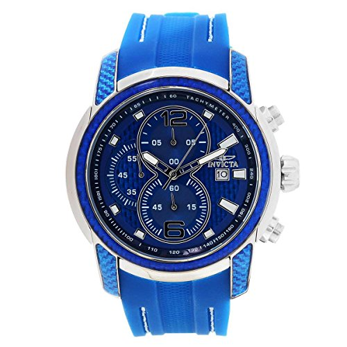 Invicta Men's 24239 S1 Rally Quartz Multifunction Blue Dial Watch