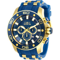 Invicta Men's 26087 Pro Diver Quartz Chronograph Blue Dial Watch