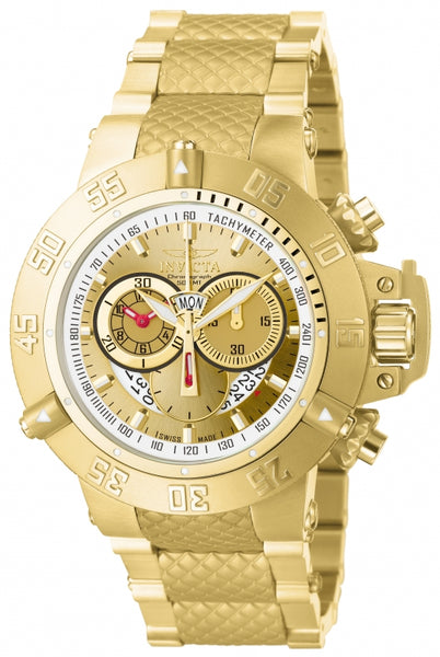 Invicta Men's 5403 Subaqua Quartz Chronograph Gold Dial Watch