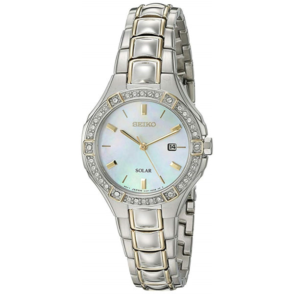 Seiko Women's 'Sport Watches' Quartz Stainless Steel Dress Watch (Model: SUT282)