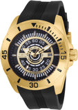 Invicta Men's 25771 S1 Rally Automatic 3 Hand Black Dial Watch