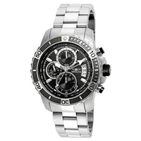 Invicta Men's 22412 Pro Diver Quartz Multifunction Black Dial Watch