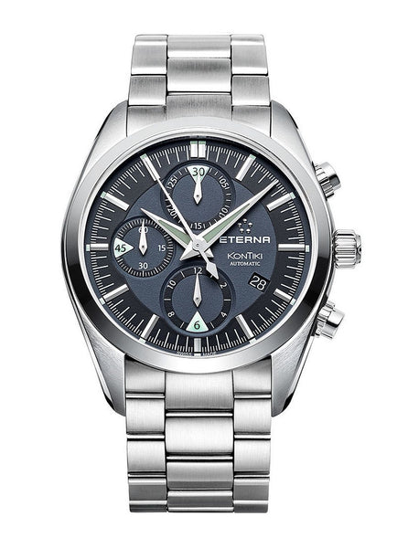 Eterna Kontiki Chronograph Automatic Men's Watch 1241.41.41.0217
