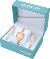 Invicta Women's 23331 Gabrielle Union Quartz 3 Hand Rose Gold Dial Watch