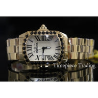 Invicta 14840 Lady Lupah Limited Edition Quartz Black Spinel SS Women's Watch