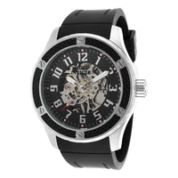Invicta Men's 16278 Specialty Quartz 3 Hand Black Dial Watch