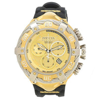 Invicta Men's 21366 Bolt Quartz Chronograph Gold Dial Watch