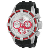 Invicta Men's 22159 Bolt Quartz Chronograph Black, Antique Silver Dial Watch