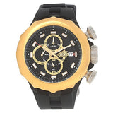 Invicta I Force Chronograph Black Dial Black Polyurethane Mens Watch 16910 In...