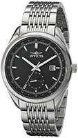 Invicta Men's 18093 Specialty Analog Display Swiss Quartz Silver Watch