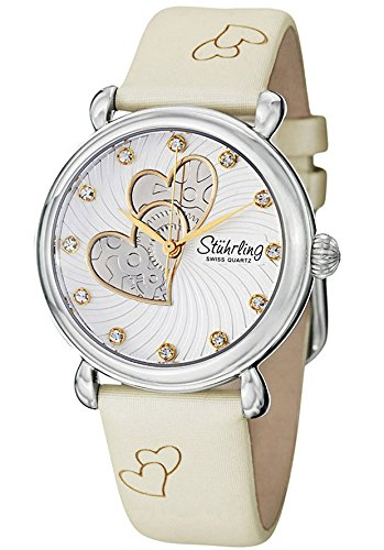Stuhrling Original 120 1115W2 Women's Cordelia  Off White Watch