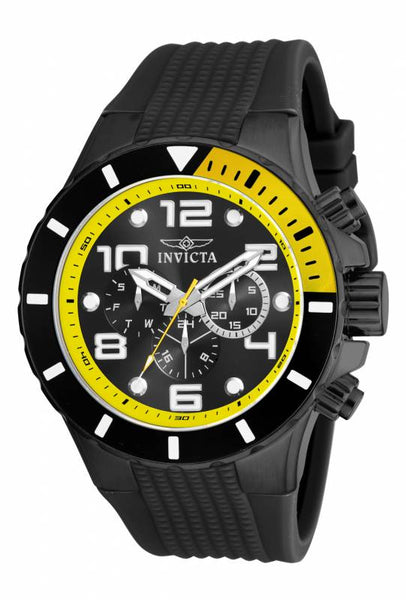 Invicta Men's 18741 Pro Diver Quartz Chronograph Black Dial Watch