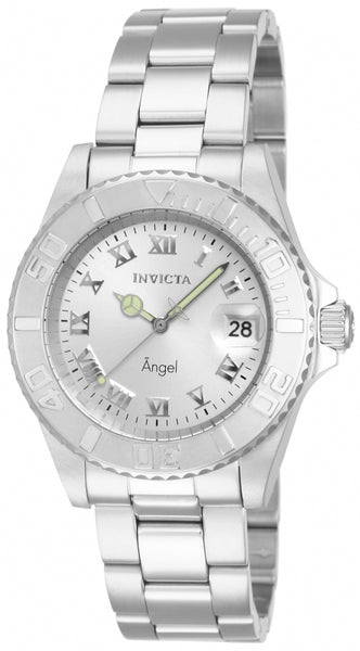 Invicta Women's 14320 Angel Analog Display Swiss Quartz Silver Watch