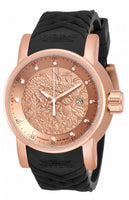 Invicta Men's 18181 S1 Rally Automatic Chronograph Rose Gold Dial Watch