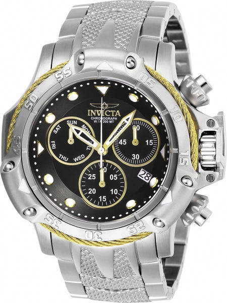 Invicta Men's 26721 Subaqua Quartz Chronograph Black Dial Watch
