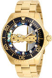 Invicta Men's 26411 Pro Diver Mechanical 2 Hand Green, Blue Dial Watch