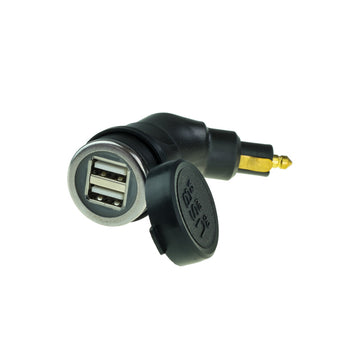 Dual Port USB Charger 2A