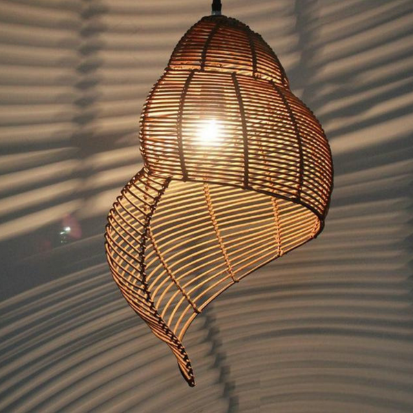 Conch Shell Pendant Light