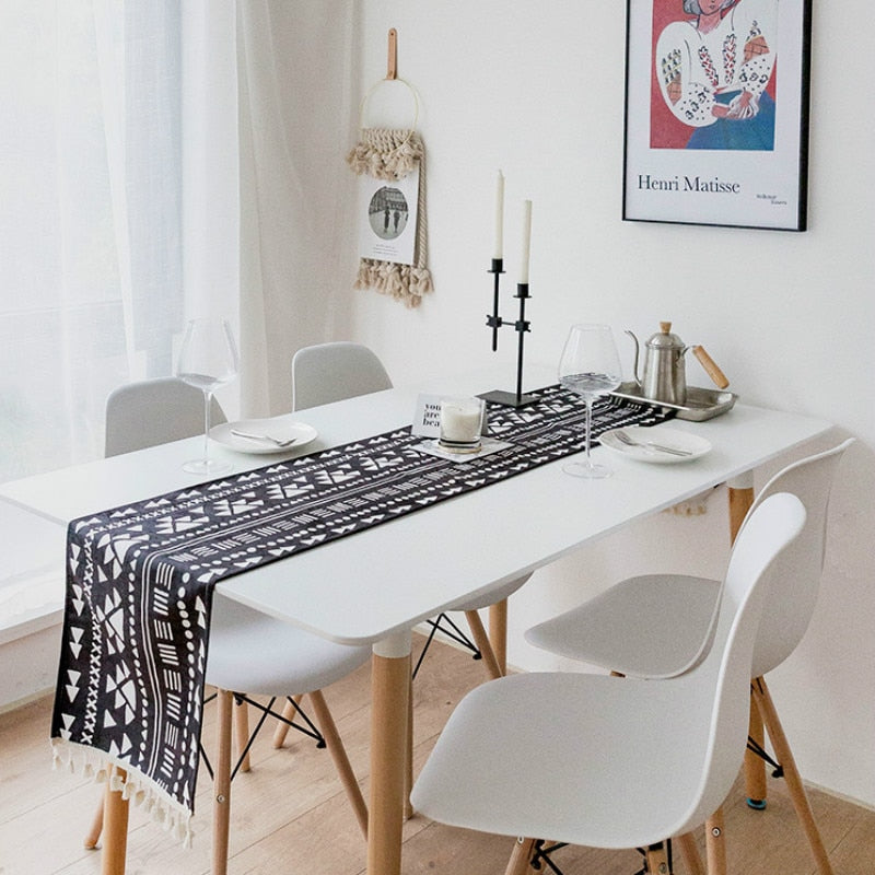 Modern Boho Table Runner