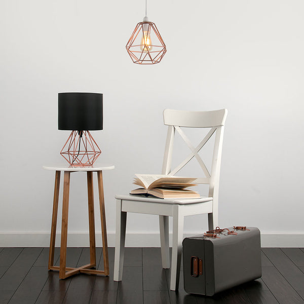 Roux Geometric Table Lamp