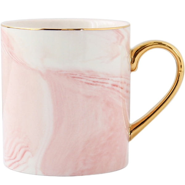 Estelle Marble Pattern Ceramic Coffee Mug