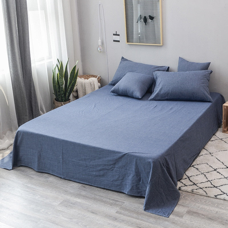 Ceylon Washed Cotton Duvet Cover Set
