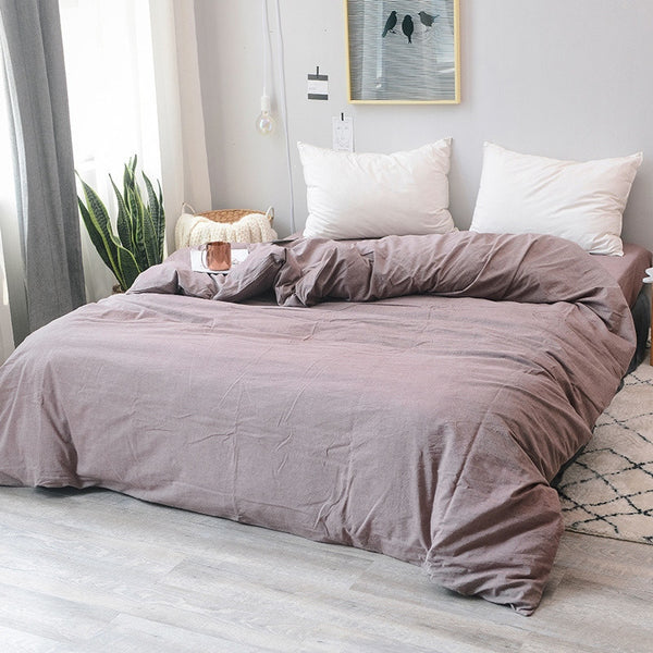 Galway Washed Cotton Duvet Cover
