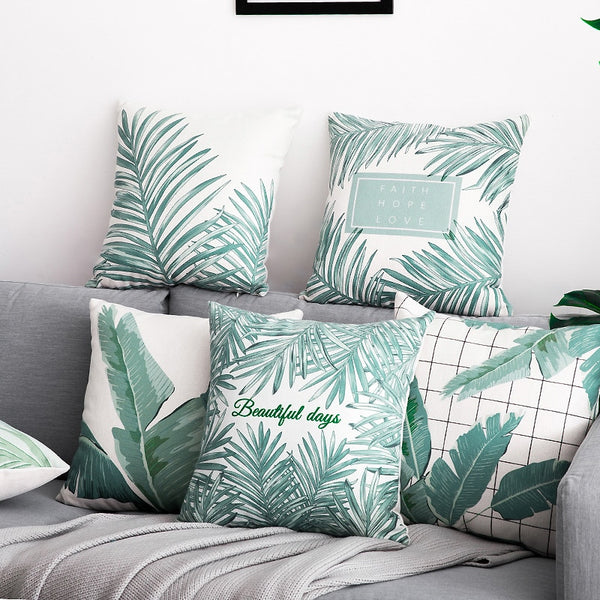 Calm Palm Pillow Cases