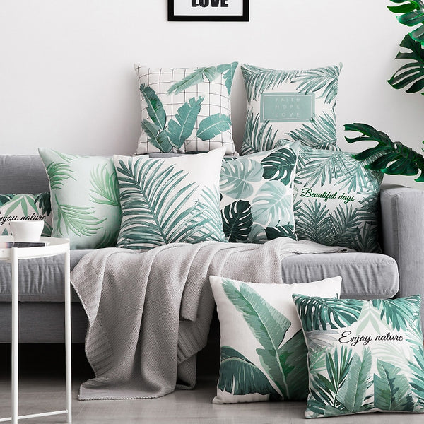 Calm Palm Pillowcase