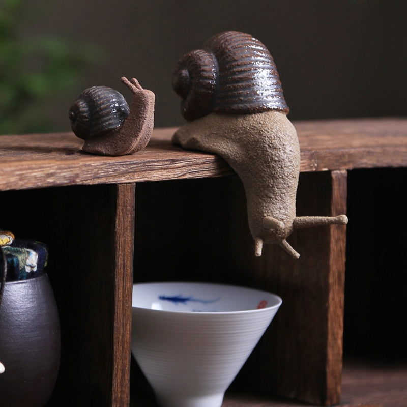 Snail Figurine Set