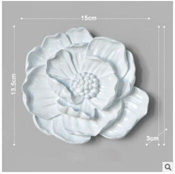 Decorative Resins Wall Flower Wall Decor