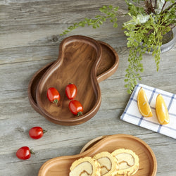 Walnut Wood Serving Dish