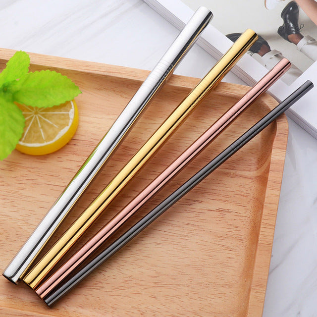 Mixed Size Stainless Steel Straw