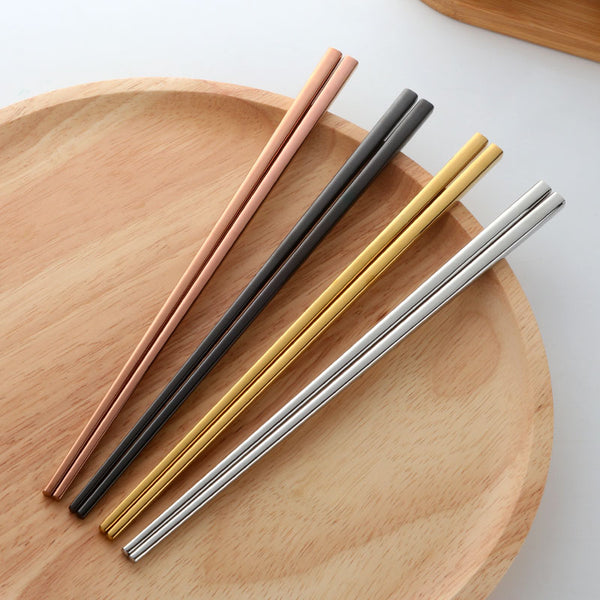 Dynasty Stainless Steel Chopsticks