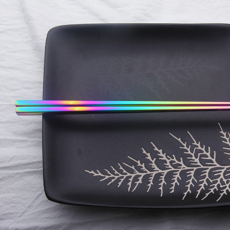 Rainbow Stainless Steel Chopsticks